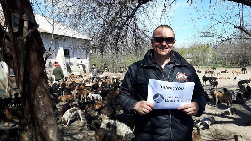 Sasha is jullie allemaal heel dankbaar voor de verkregen donaties!