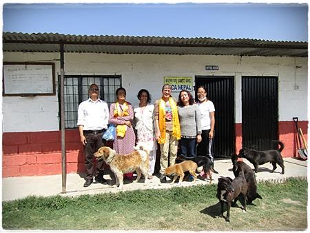 Emmy en het team van vrijwilligers van Malika